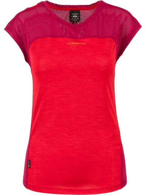 La Sportiva Traction - T-shirt manches courtes Femme - rouge/violet
